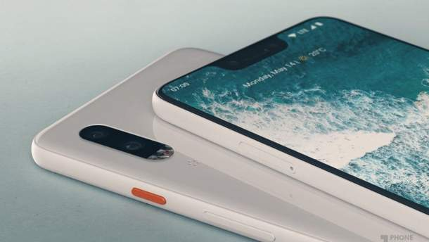 Google Pixel 3 XL отримає дивний дизайн