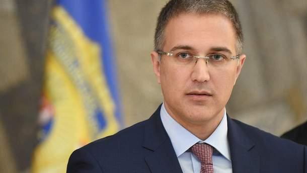 Небойша Стефанович, министр внутренних дел Сербии