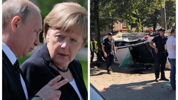 Главные новости 19 августа: детали переговоров Путина с Меркель, серия страшных ДТП в Украине