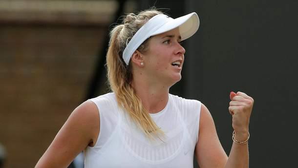 Элина Свитолина вышла в четвертьфинал турнира в Цинциннати