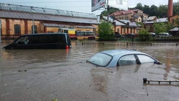 Непогода во Львове