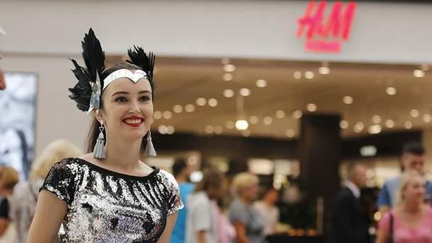 Открытие первого магазина H&M в Киеве