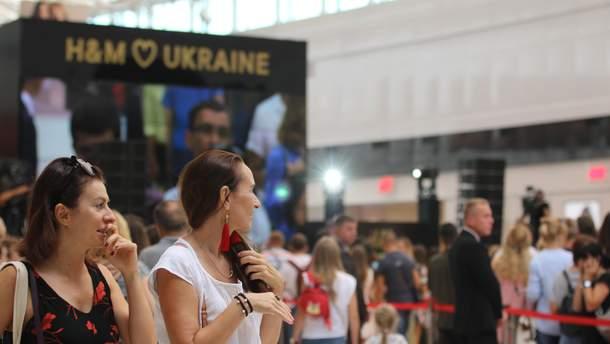 Открытие первого магазина H & M в Киеве
