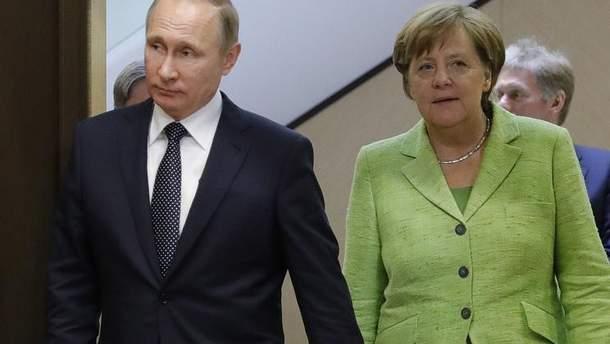 Зустріч Путіна і Меркель