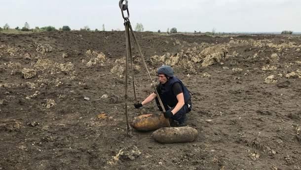 Три авіабомби виявили та знешкодили на Хмельниччині
