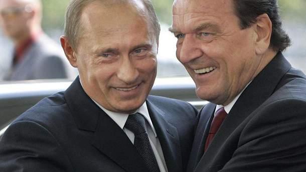 Герхард Шредер і Путін