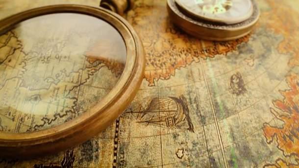 Ученые воссоздали старинную карту