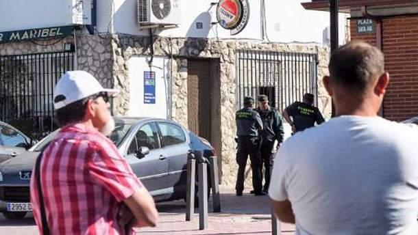 Бар в Испании, в котором мужчина расстрелял людей
