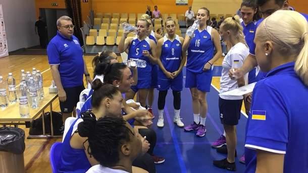 Женская сборная Украины по баскетболу уступила Латвии