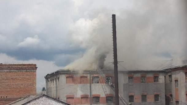 В Виннице горит тюрьма