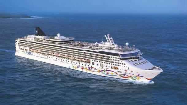 Женщина выпала за борт круизного лайнера Norwegian Star