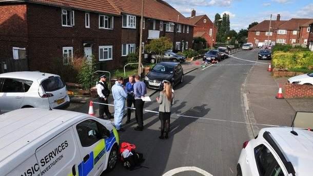 Полиция на месте инцидента в Гринвиче