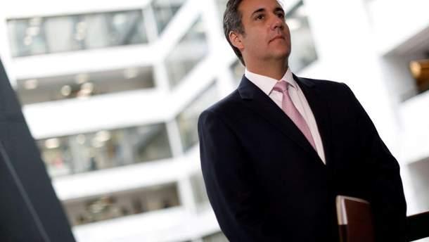 Колишній адвокат Трампа Майкл Коен