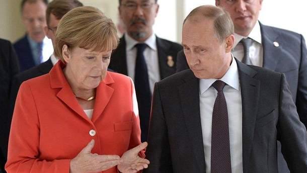 Чи намагається Меркель співпрацювати з Путіним?