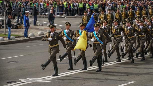 Подготовка к параду: какие улицы перекроют в Киеве