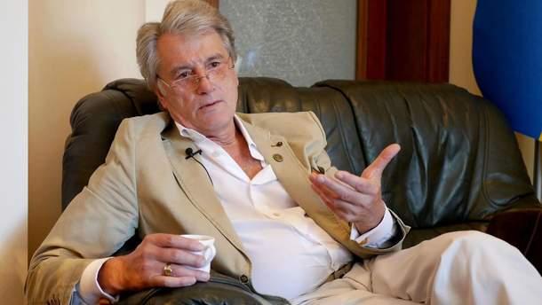 Ющенко призывает Украину к переговорам с Россией