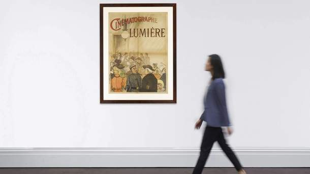 Первый кинопостер в мире выставили на аукцион за немалую сумму