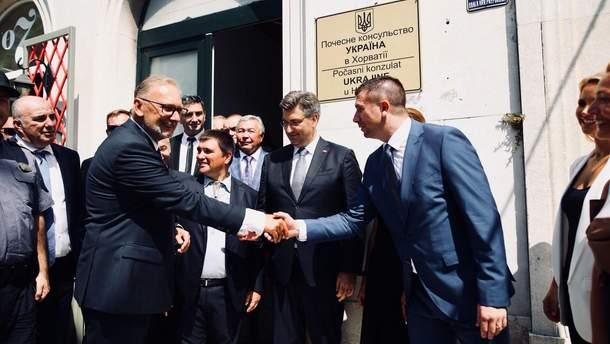 Відкриття почесного консульство України в Хорватії