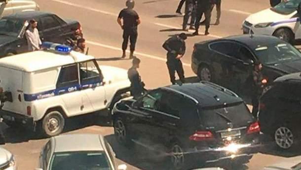 Серия нападений на полицейских произошла в Чечне