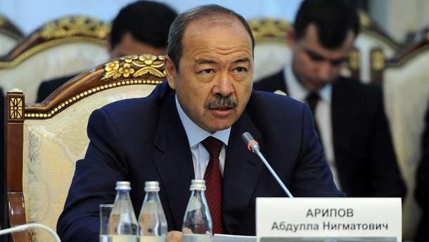 Премьер Узбекистана Абдулла Арипов попал в ДТП