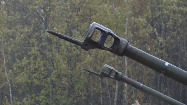 Порошенко сказал озапуске производства украинских снарядов для системы «Гиацинт»