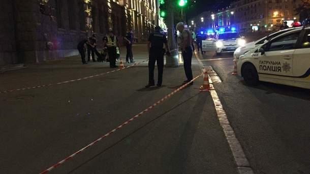 В ніч на 20 серпня біля Харківської міськради сталась стрілянина