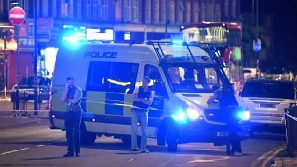 Стрельба в Лондоне