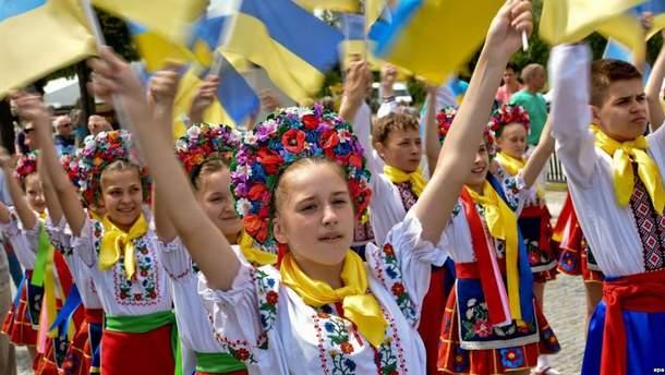 Большинство граждан Украины считают себя патриотами