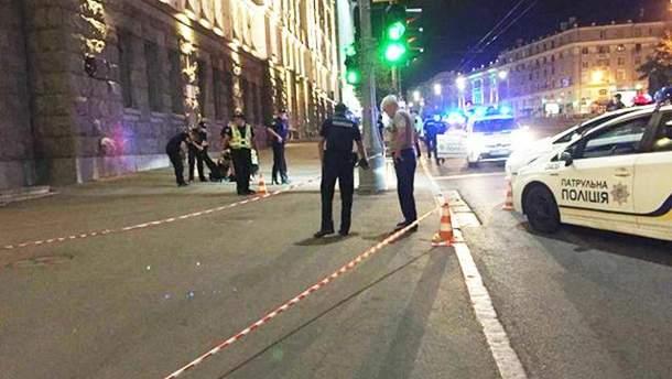 Стрельба под Харьковской мэрией