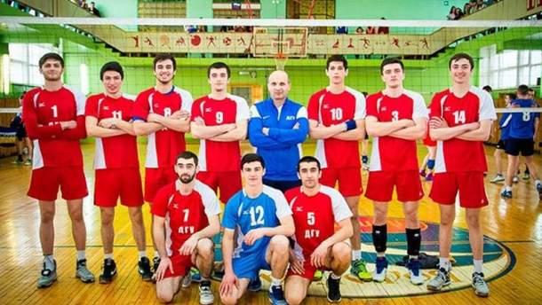 Російські волейболісти