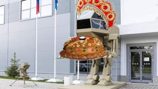 Робот Игорек от Калашникова – фотожабы