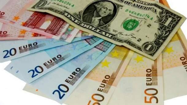 Наличный курс валют 22 августа в Украине