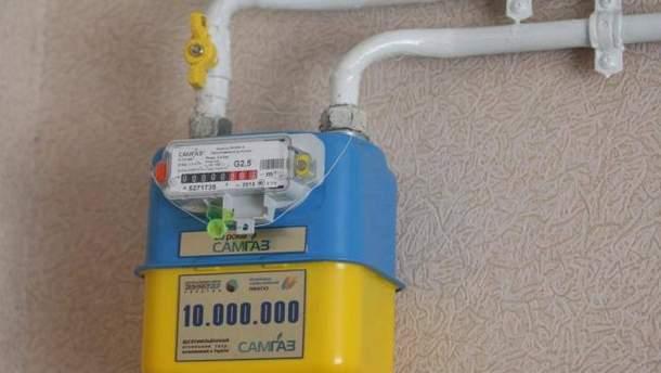 Лічильник на газ