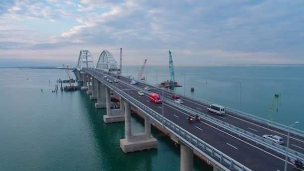 Крымский мост перекроют 24 августа