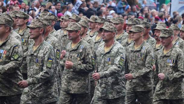 В резерве ВСУ находится около 160 тысяч участников боевых действий