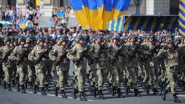 В Киеве перекроют центр из-за репетиции военного парада
