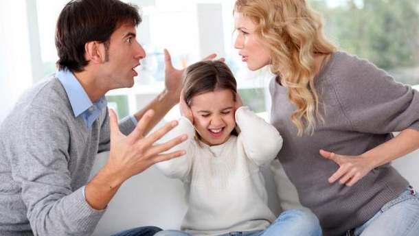 Як розлучення впливає на дитину