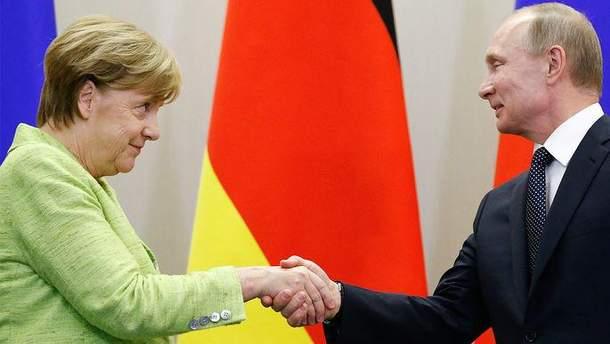 Меркель шукає альтернативу російському газу для Європи