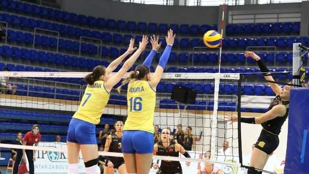Жіноча збірна України програла збірній Греції