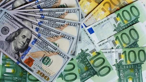 Готівковий курс валют 23 серпня в Україні