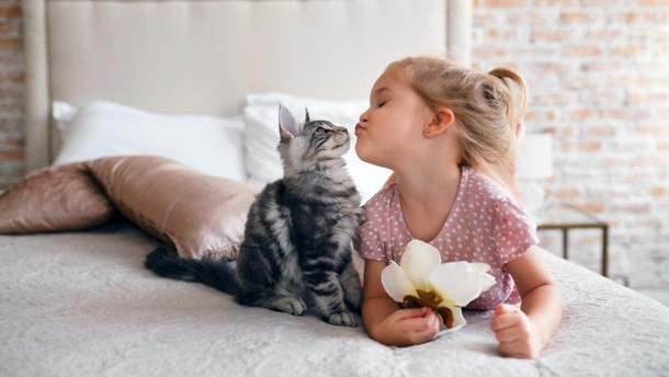 Когда можно заводить кота ребенку