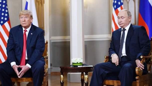 Через санкції надії Трампа на тепліші стосунки з Путіним можуть ніколи не стати реальністю