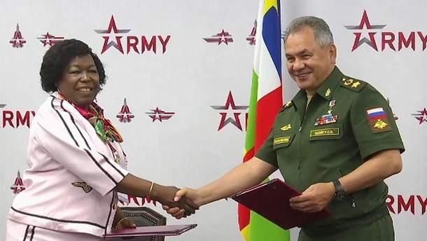 Росія та ЦАР підписали новий військовий договір
