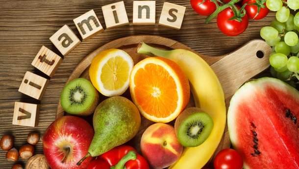 Какие витамины необходимы для здоровья