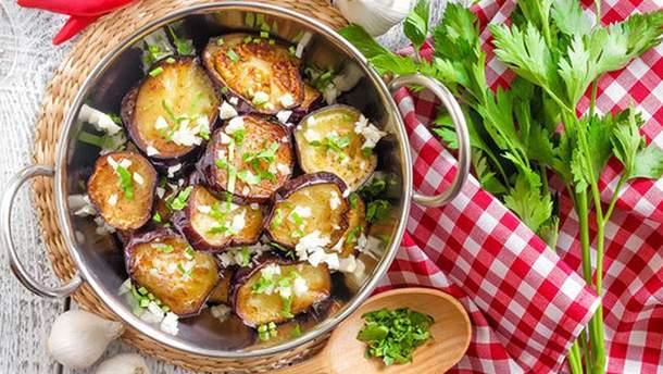 Рецепты салатов на зиму из баклажанов