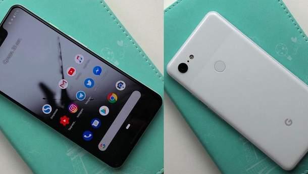 Google Pixel 3 XL з'явився на чорному ринку