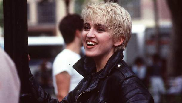 Мадонна в молодості