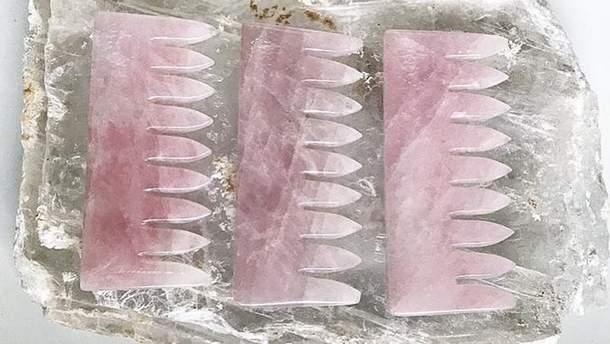 Гребни из кристаллов