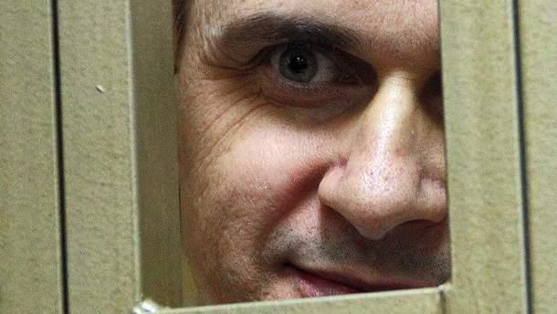 Олег Сенцов голодує 102-й день