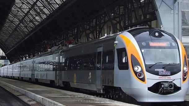 27 августа на маршрут Киев – Львов поставят дополнительный поезд